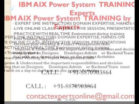 IBm AIX Power System Online Training