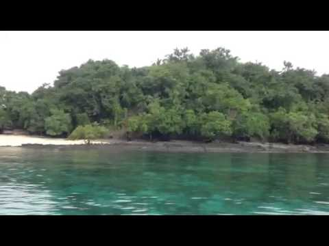 Island hopping at Mati, Davao Oriental, Philippines