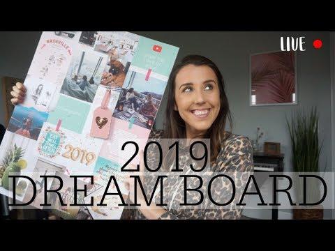 2019 DREAM BOARD CHAT! LIVE!