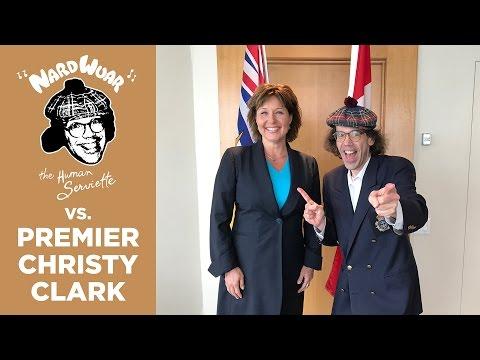 Nardwuar vs. Premier Christy Clark