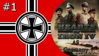 Twitch Edition Hearts Of Iron 4: Germany Episode 1