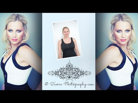 Beauty Makeover Portraits | Before and After | Divers Photography