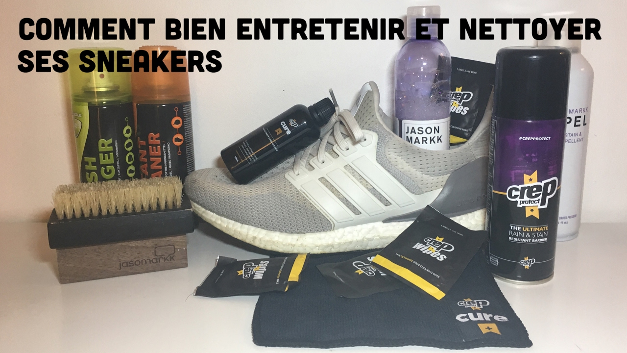comment bien entretenir et nettoyer ses sneakers fr youtube. Black Bedroom Furniture Sets. Home Design Ideas