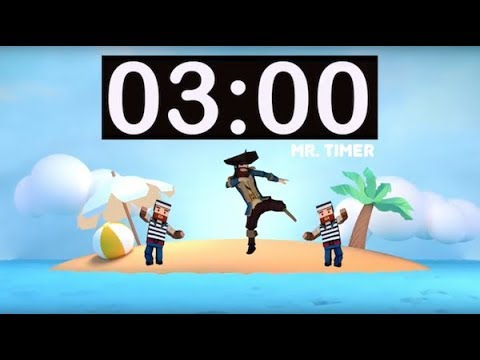 3 Minute Timer with Music for Kids, Classroom! 3 Minute Countdown