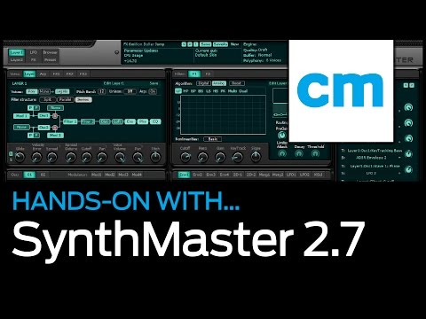 KV331 Audio SynthMaster 2.7: Hands-on with Computer Music Magazine