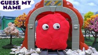 Thomas The Tank Engine Play Doh Thomas y sus Amigos Thomas Train  托马斯&朋友 Tomas Guess Who Play-Doh