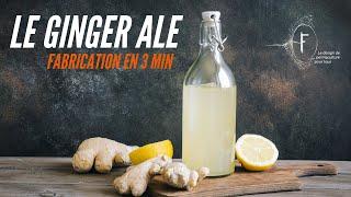 Faire son Ginger Ale - tuto de 3min
