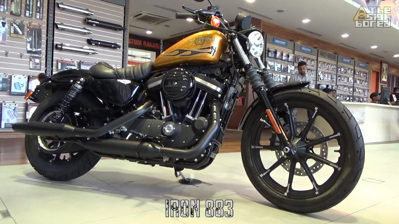 2016 Harley Davidson Iron 883 Forty Eight Stock Exhaust