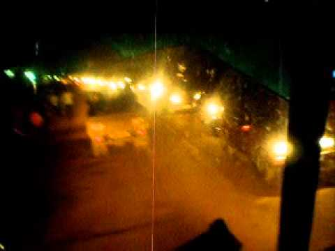 Night time in Kampala, Uganda