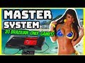 Top 20 Brazil Only Sega Master System Games! - Region Exclusives