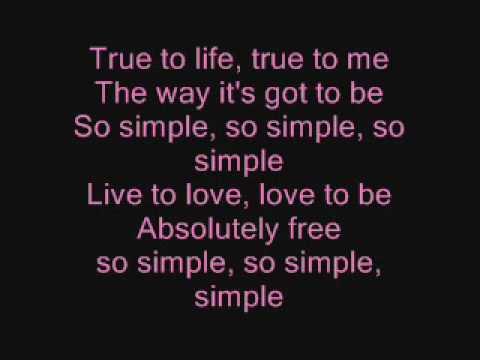 So simple - Stacie orrico lyrics