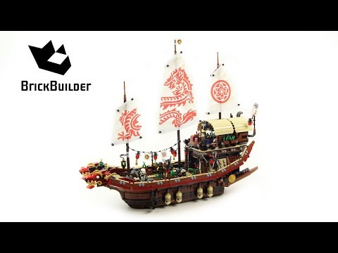 Lego Ninjago 70618 Destiny's Bounty  - Lego Speed build