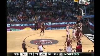 Canadá 78-79 Venezuela 11 09 2015