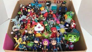 Box Full of Toys | Roblox | Pokémon | Pj Mask | Cars | Teen Titans Go | Box of Cute Little Toys