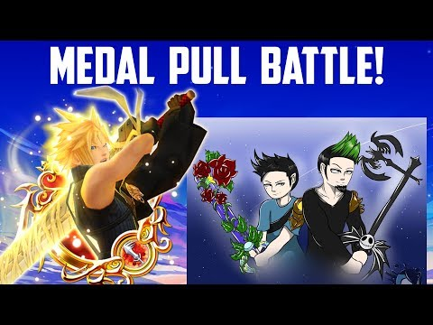 Medal Pull Battle Against Octo! - Kingdom Hearts Union X