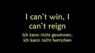 David Guetta ft Usher Without You German/English  Lyrics.