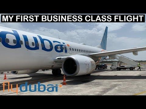 Flydubai Boeing 737-800 Business Class Review | My First Business Class Flight