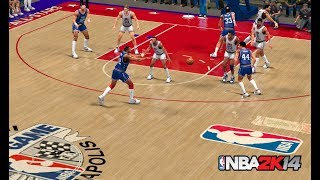 NBA 2K14 : 1985 NBA All-Star Game At Hoosier Dome  | 4K 60fps | PC Gameplay