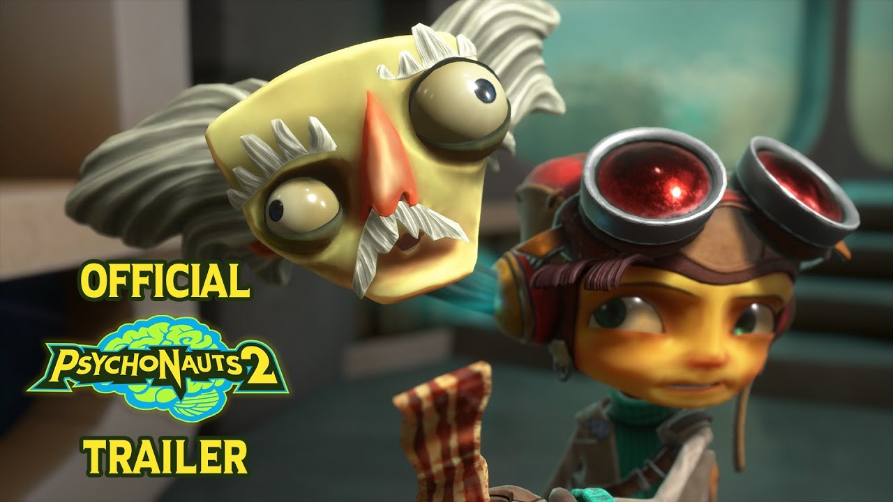 Psychonauts 2 // Official First Trailer