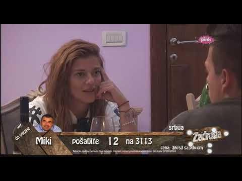 Zadruga - Kija i Sloba igraju igru istine u hotelu, prvi deo - 15.05.2018.