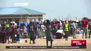S. Sudan food crisis: Thousands of South Sudanese seek refuge in neighboring Sudan