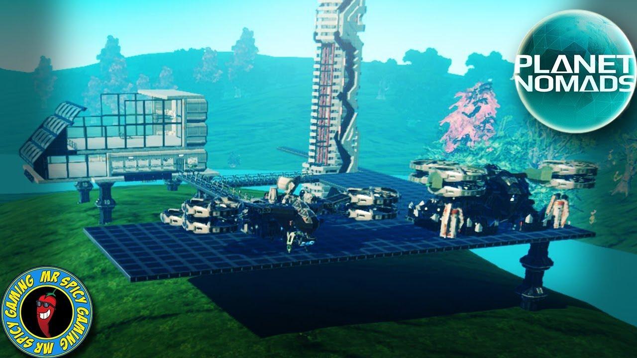 NEUE BERGBAUPLÄTZE UND UNBEGRENZTER BERGBAU - Planet Nomads Gameplay S2 Ep11 + video