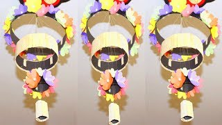DIY Paper Wind Chimes   How to make wind chime out of paper   Paper wind chime tutorial