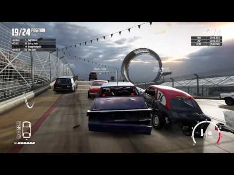 Wreckfest - PlayStation 4 Pro Gameplay
