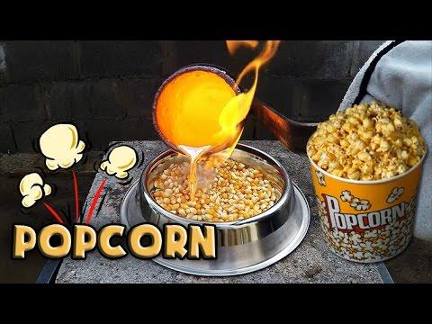 Molten Copper vs Popcorn