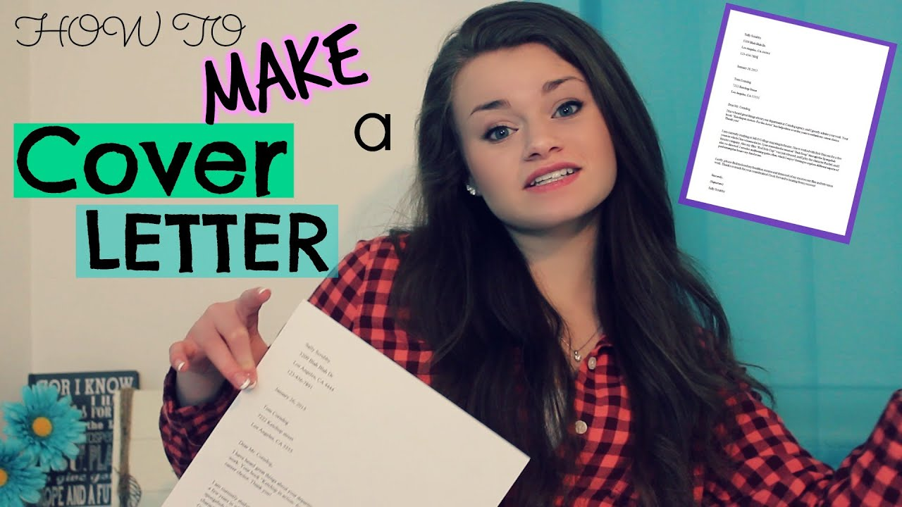 How To Make An Acting Cover Letter To Submit To Agents  Youtube