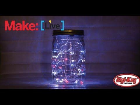 Make: Live-  Tricolor Twinkle Lights