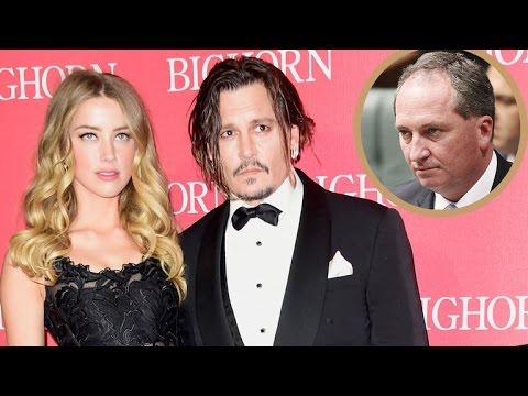 Johnny Depp and Amber Heard's Apology Video Mocked by Australian Deputy Prime Minister: It's 'Atr…