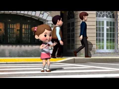 Робокар поли правила дорожного движения как переходить дорогу мультфильм 16