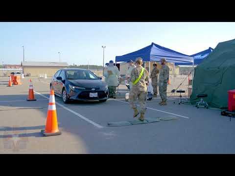 Fort Bragg COVID-19 Drive Through Remote Test Location FORT BRAGG, NC, UNITED STATES 04.08.2020