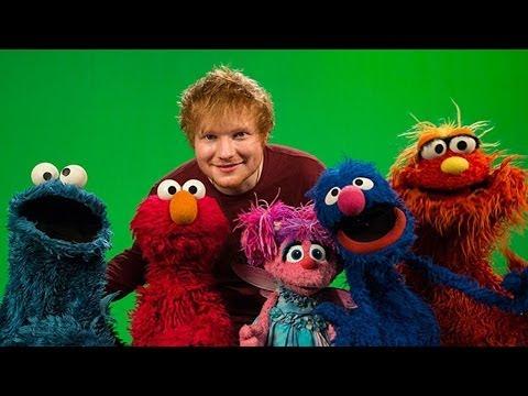 Ed Sheeran & Macklemore on 'Sesame Street' Behind-the-Scenes with Billboard