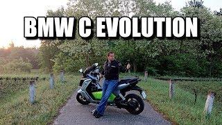 Bmw C Evolution Elektryczny Skuter (Pl) - Test I Jazda Próbna