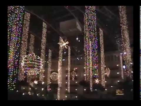 Christmas Lights at the Gaylord Opryland Resort in Nashville
