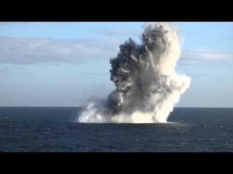 Sea Mine Explosion