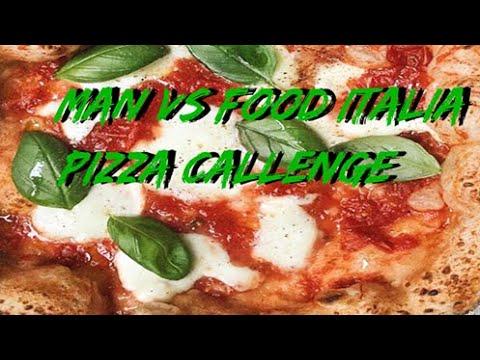 Man vs Food Latina - terza puntata Pizzeria Posillipo