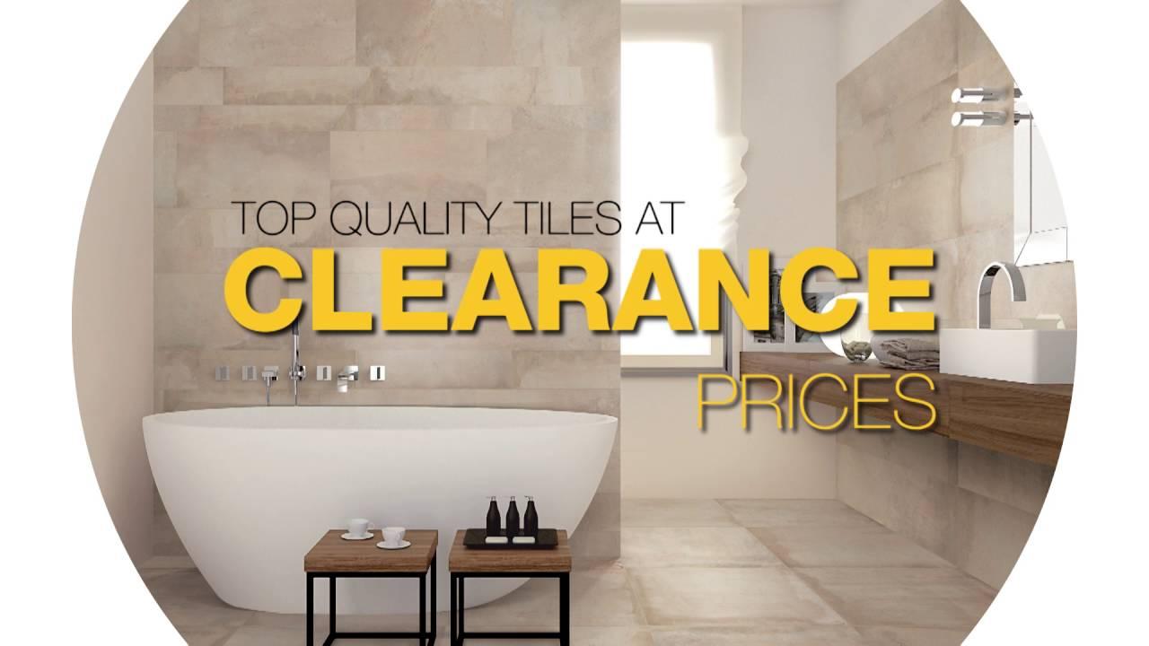 Italia Ceramics – Tile Clearance Store TVC - YouTube