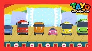 Tayo Lagu Sepuluh di Kasur warna Ten in the bed color song l Lagu untuk anak-anak l Tayo bus kecil