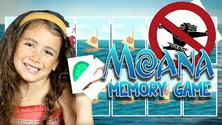 Moana Memory Game | Part 2 | WigglePop | Games For Kids | Family Friendly Games | Games for Kids