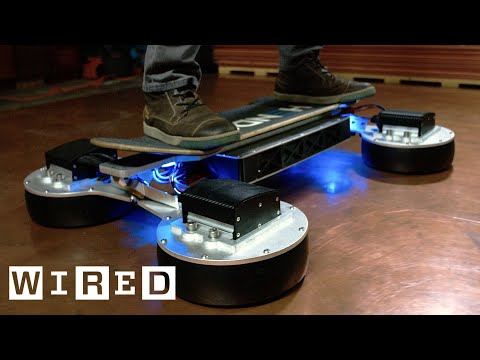 Hendo's Newest Hoverboard Is One Step Closer to Marty McFly's