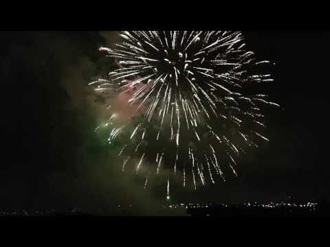 Australia Day Fireworks -Blacktown City  Council - Rooty Hill 2017