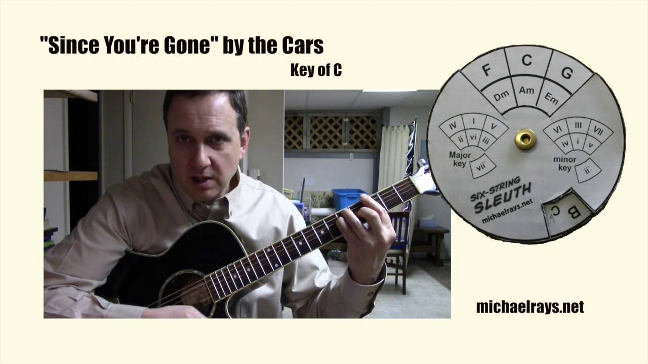 Figuring Out The Chords To Since Youre Gone By The Cars Youtube