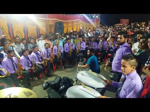 Shree Ganesh Brass Band Pathak { Prabhadevi }  🎷आई तुझं देऊळ 🎺.......