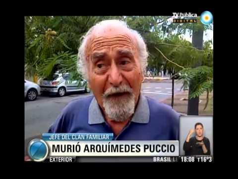\u00daltimas declaraciones de Arquimedes Puccio - YouTube