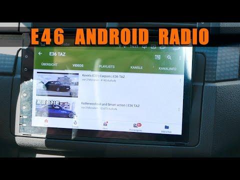 Doppel DIN Android Radio für den E46! | E36 TAZ