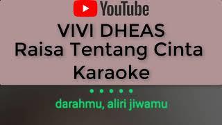 Raisa Tentang Cinta Karaoke No Vocal