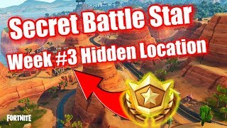 Fortnite - Road Trip Challenge Secret Battlestar Location Week #3